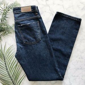 New New Zara Basic Straight Leg Jeans 00